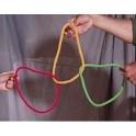 Multicolor rope link cordes multicolores