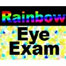 Rainbow Eye Exam