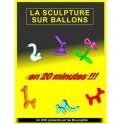 DVD La sculpture sur ballons en 20 minutes !!! / Les Brunophils