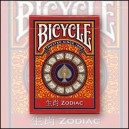 Jeu Bicycle Zodiac