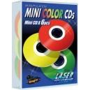 Manipulation mini CD couleurs