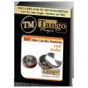 Boite Okito alu demi dollar + dvd / okito xoin box alu half dollar / Tango