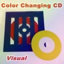 VISUAL COLOR CHANGING CD / CHANGEMENT DE COULEUR DE CD A VUE