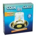 LA PIECE A TRAVERS LE VERRE COIN THRU GLASS