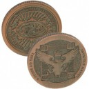 COPPER ARTIFACT COIN DOLLARS