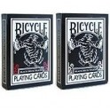 BICYCLE BLACK TIGER DECK ROUGE