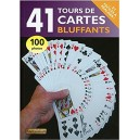 41 TOURS DE CARTES BLUFFANTS - LIVRE