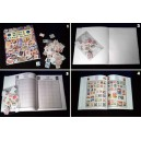 WHOLE WORLD STAMP ALBUM LIVRE DE TIMBRES