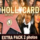 HOLLYCARD DE BATISTE RECHARGE EXTRA PACK 2 PHOTOS