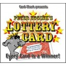 Lottery card / Peter Eggink